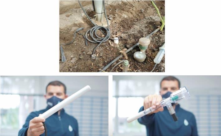 El tensiómetro es el instrumento más fiable para conocer la humedad, ya que simula la raíz de la planta y además es bastante conocido en el mundo de la agronomía.