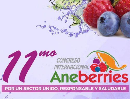 Estaremos en el Congreso Internacional Aneberries