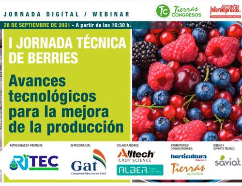 Patrocinadores Premium en la I Jornada Técnica de Berries con Interempresas