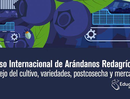 Somos patrocinadores del Curso Internacional de arándanos